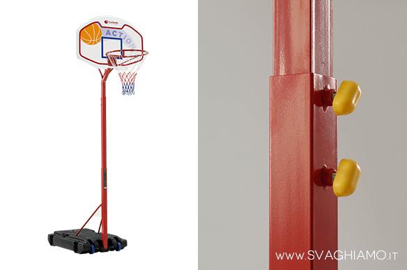 affitto pallacanestro impianto basket