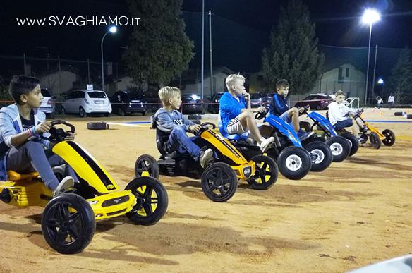 noleggio cart pedali adulti ragazzi