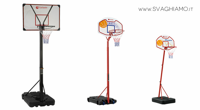 noleggio impianto basket