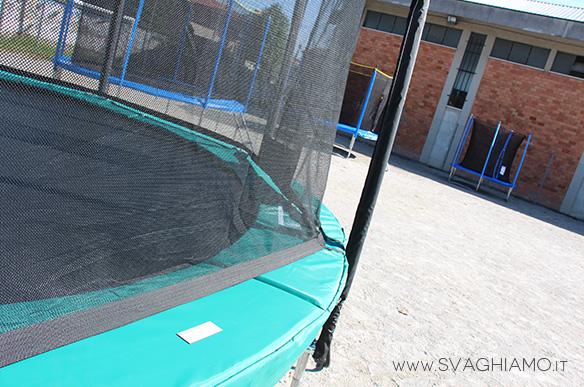 noleggio trampolini tappeti elastici