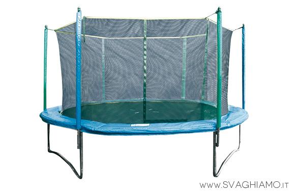 noleggio trampolino tappeto elastico