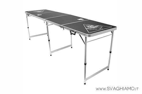 birra pong tavolo pieghevole