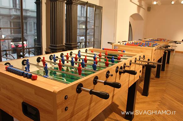 calcio balilla a noleggio milano